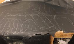 Custom wrangler leather