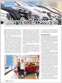 Dealerships & Accessories
