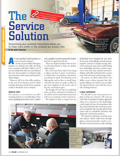 The Service Solution