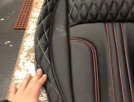 Custom leather interior