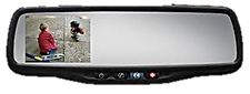 rear view camera in mirror, gentex mirror, chicago, top coveage, illinois, where can i buy a back up camera in mirror? where can I have it installed?
