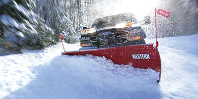 Top Coverage installs western snow plows for chicago, illinois