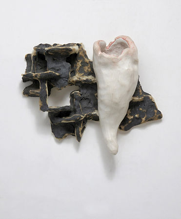 T郭旭達,Untitled 96-37,1996,陶、金屬氧化物 Fired C