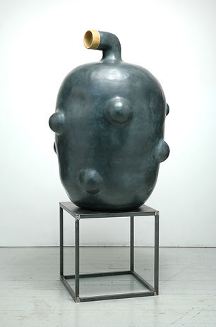 T郭旭達,無題 05-04 Untitled 05-04,2005,陶、金屬氧化
