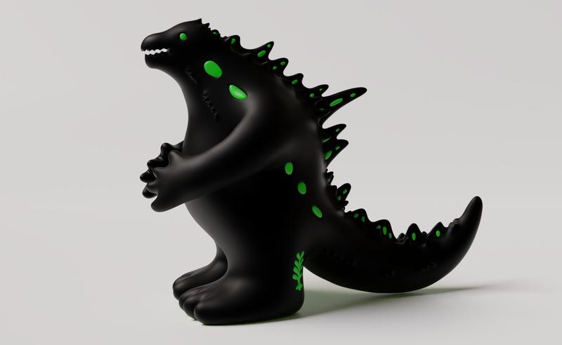 站立的怪獸 No.1, 2021