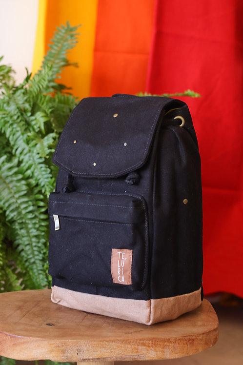 mini-mochila Preta Pretinha