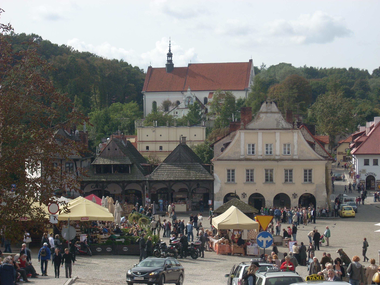 Kazimierz Dolny (Kuzmir on Vistula)