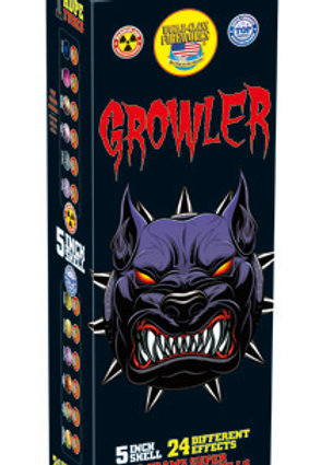 """Growler 5"""" Super Charged Canister Shells - 72 Shells, 12 Shooting Tubes"""