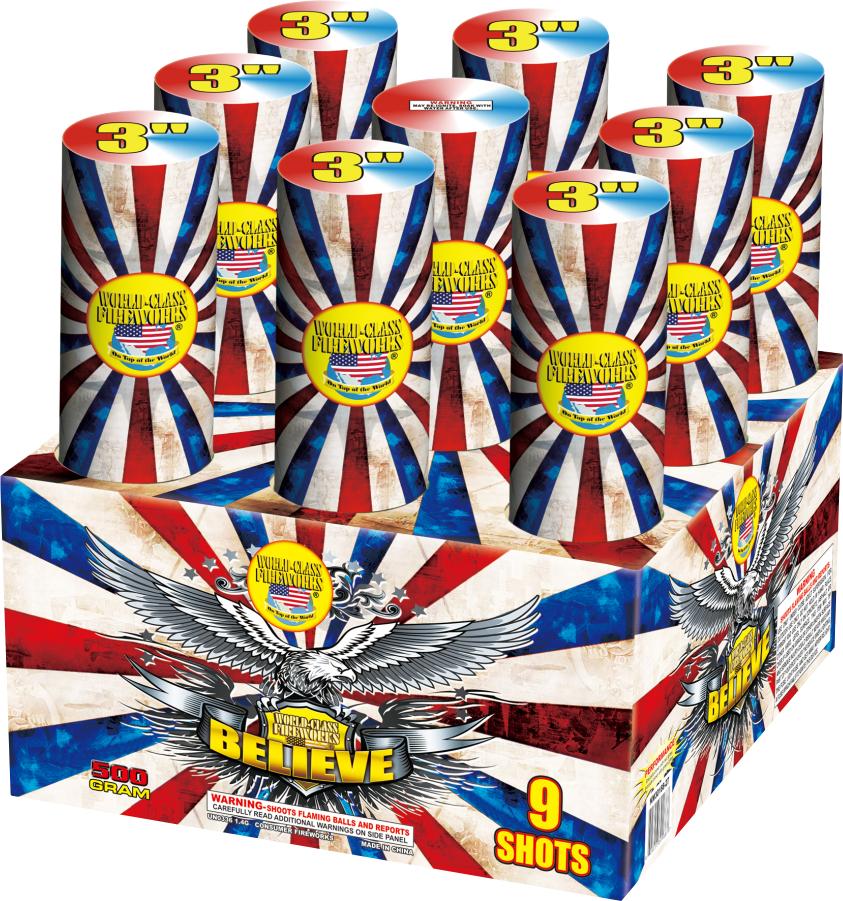 believe fireworks finale