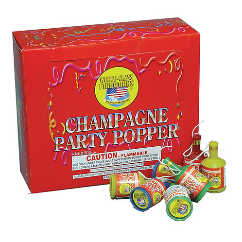 Champagne Party Poppers