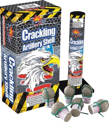 Crackling Fireworks Artillery Shells