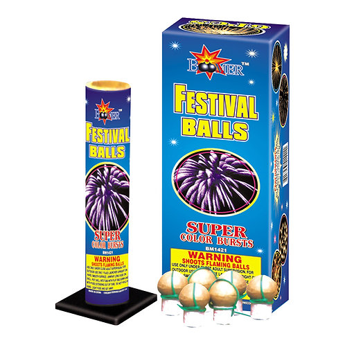 Boomer Premium Festival Balls - Only $9.38 Per Box