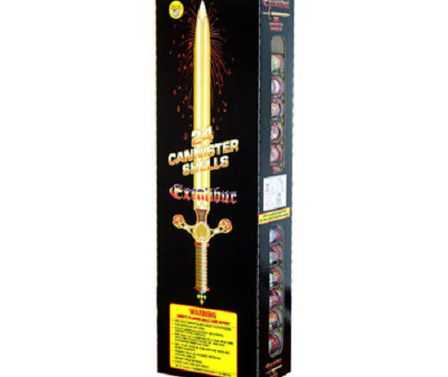 Excalibur Fireworks Artillery Shells