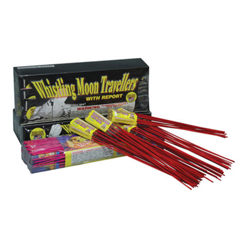 Boomer Whistling Moon Traveler Bottle Rockets