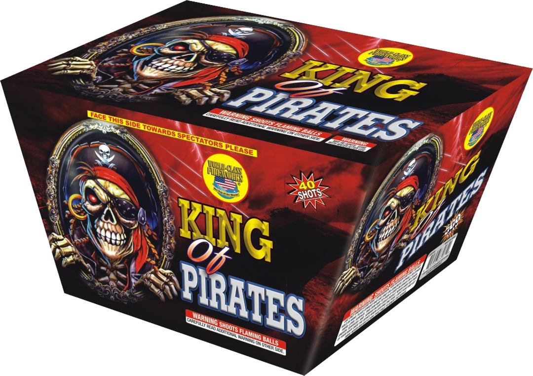 king-of-pirates daytime firework