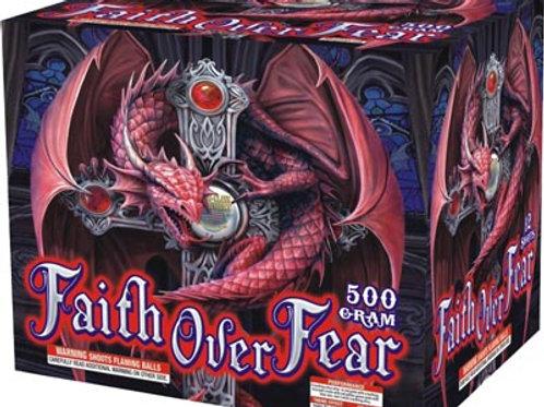 12 Shot Faith over Fear fireworks Repeater, 500 Gram