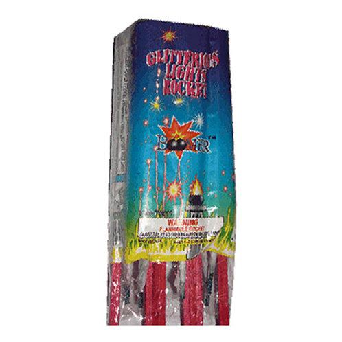 Glitterous Light Rockets