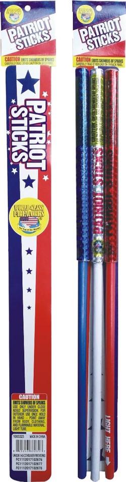 patriot-sticks-firework sparklers