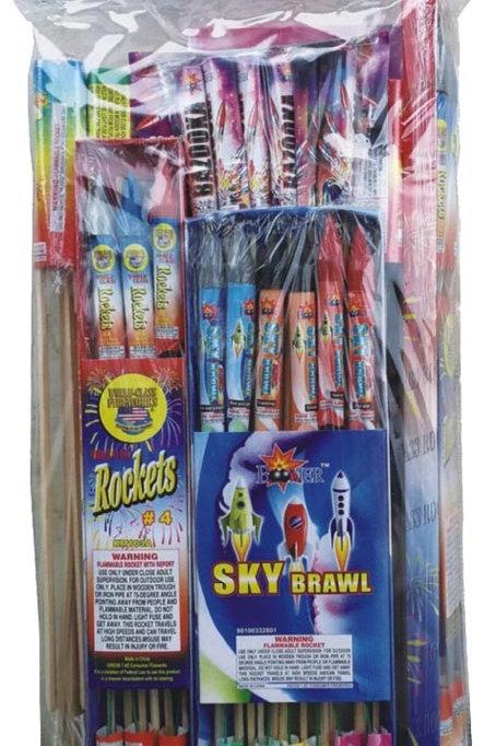 Ground Zero Rocket Assortment