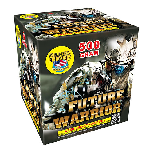 future warrior 9 shot fireworks repeater cake