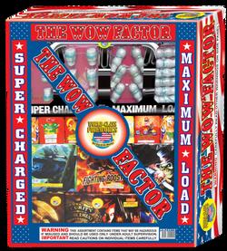 wow factor fireworks assortment