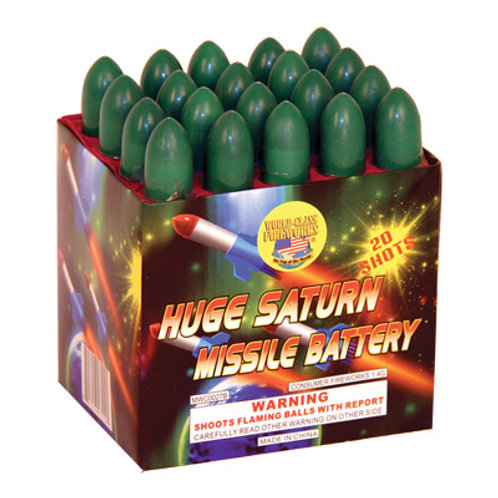 20 Shot Huge Saturn Missile Battery