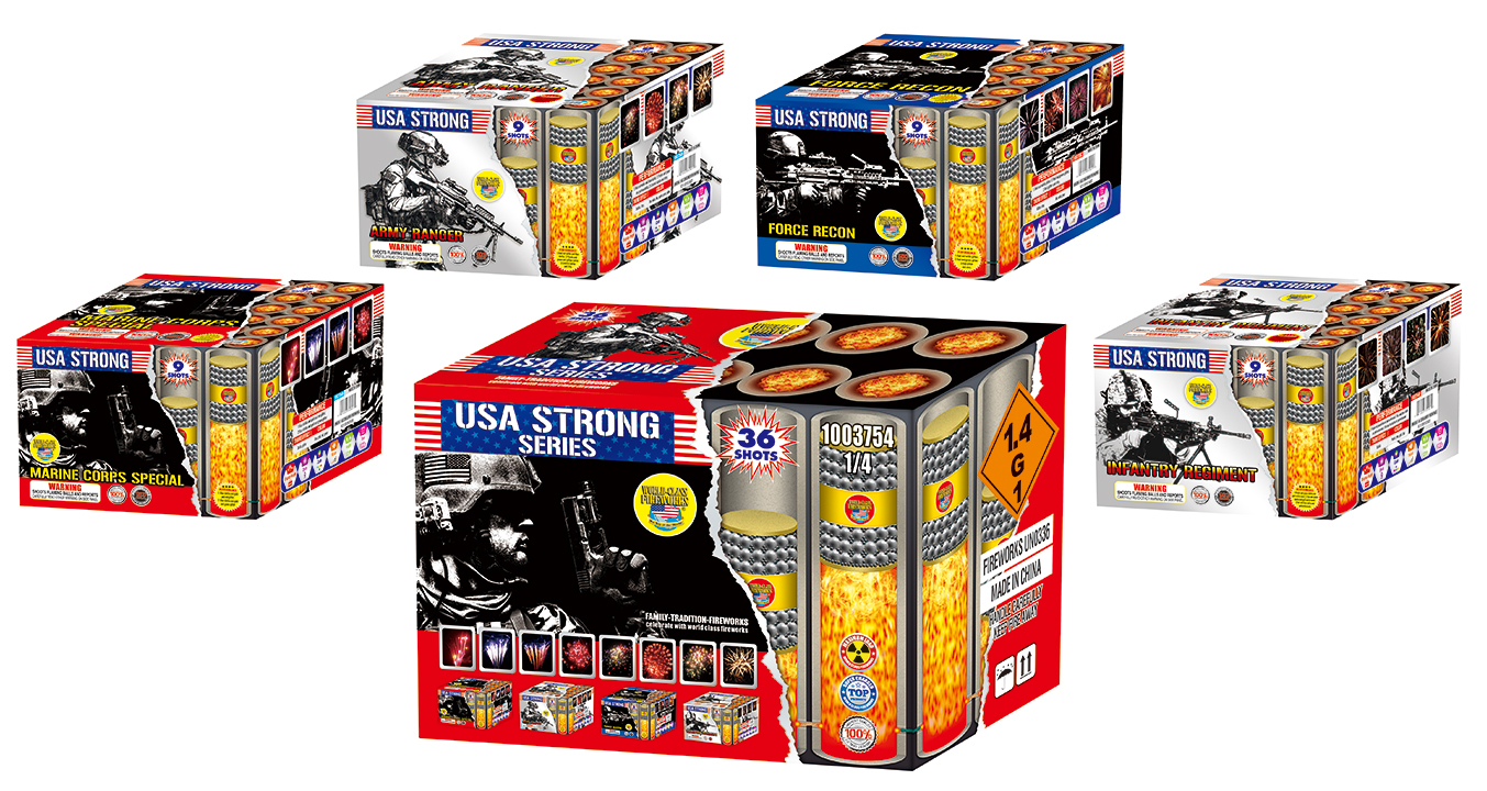 USA Strong Fireworks Assortment