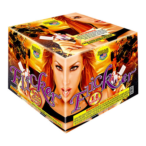 Discount 500 gram Fireworks repeater cakes flicker