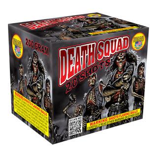 Death Squad 200 Gram Repeater Firework Cake