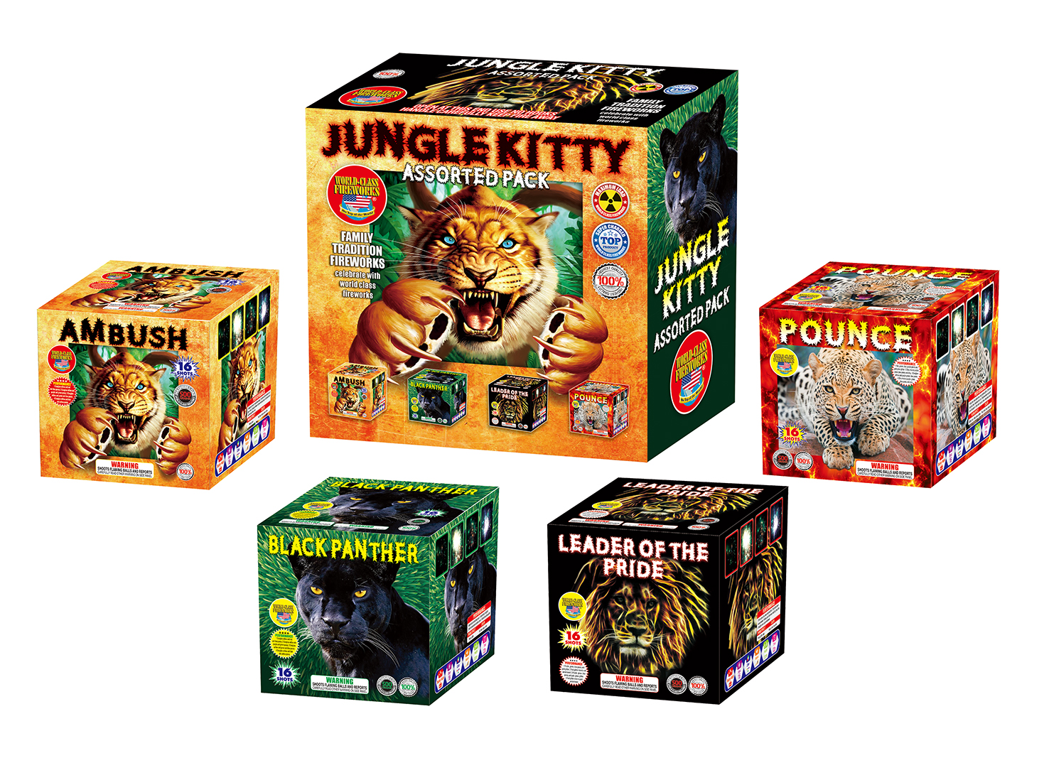 Jungle Kitty Assortment