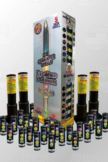 Excalibur Platinum - Only $65.00 Per 24 Shells Per Box