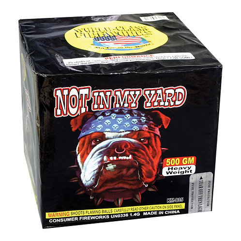 Best Selling Fireworks Not In My Yard