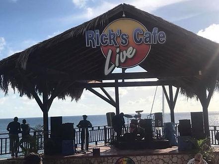 Ricks Cafe negril jamica
