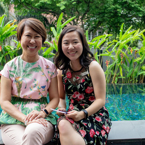 """""""Be curious and be hungry to learn"""" - YWLC Mentor Ms Chong Siak Ching shares her valuable advice for"""