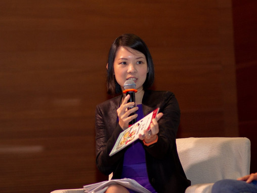 """Sharing by Michelle Khoo on """"Grit and Compassion""""."""