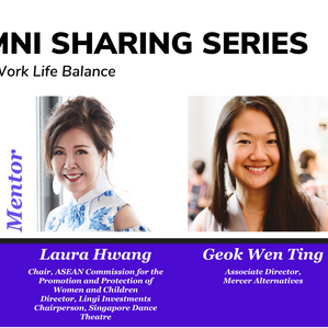Finding equilibrium in work, life and mentorships!