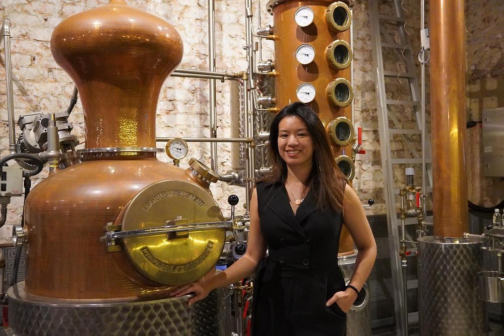 Brass Lion Distillery founder Jamie Koh