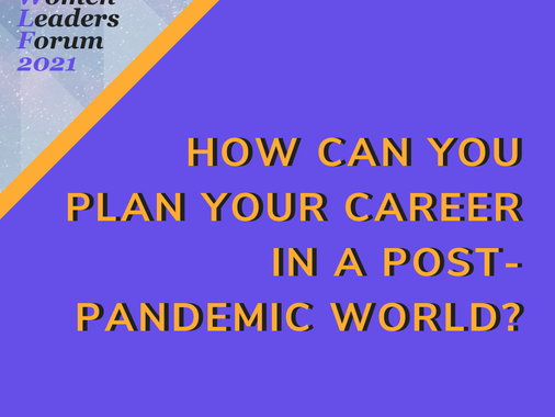 5 Tips to Plan Your Career in a Post-Pandemic World