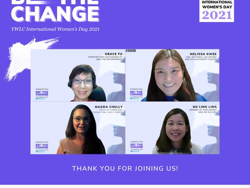 YWLC x Mercer: International Women's Day 2021 - Be the Change