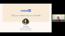 Crafting Your Career Story on LinkedIn with Yunita