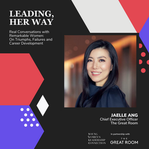Leading, Her Way: Jaelle Ang on The Growth Mindset