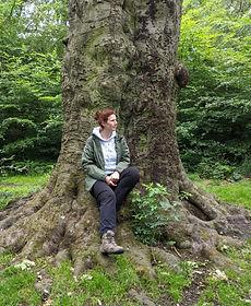 JK on Tree in Hoody.jpg