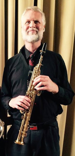 Eric with Soprano Sax