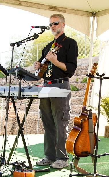 Ukulele and Guitar