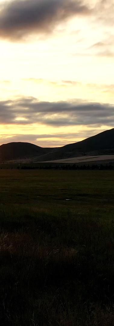 Omarama sun rise