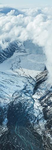 Mount Cook winter wave