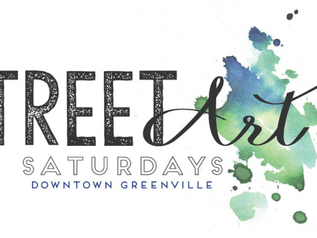 Artists Wanted for New Street Art Saturday Program in Downtown Greenville