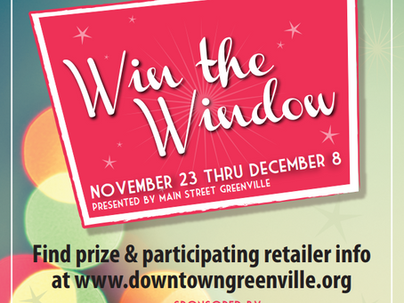 Shop Local in Downtown Greenville to Win!