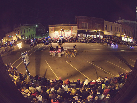The Hometown Holiday Horse Parade Returns to Downtown Greenville for the 11th Year!