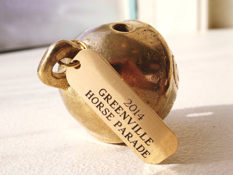 Commemorative 2014 Horse Parade Bells Available!